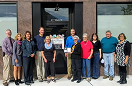 Cold Spring Area Chamber of Commerce presented the RAFS Board and Managers with a Member in Good Standing plaque