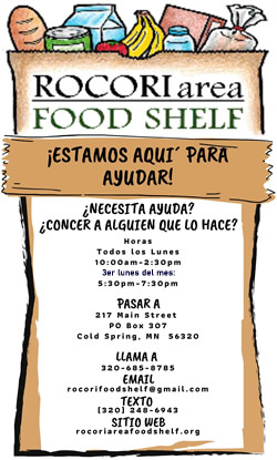 Rocori Area Food Shelf - Spanish